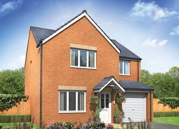 "Thumbnail 4 bed detached house for sale in ""The Roseberry"" at Newcastle Road, Shavington, Crewe"
