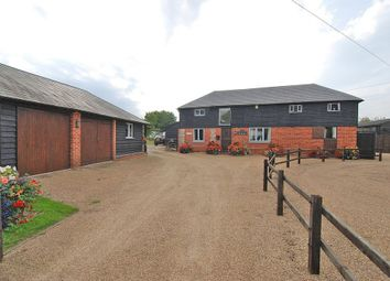 Thumbnail 4 bed barn conversion for sale in Wrotham Road, South Street, Meopham, Gravesend