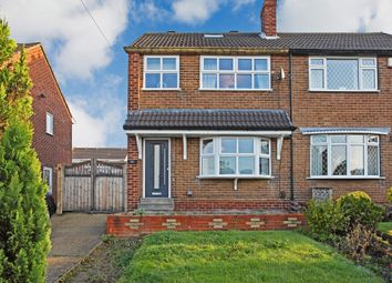 Thumbnail 2 bed semi-detached house for sale in Coleridge Crescent, Wrenthorpe, Wakefield