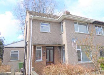 Thumbnail 3 bed semi-detached house for sale in Protheroe Avenue, Pen-Y-Fai, Bridgend.