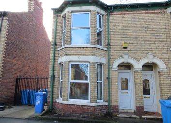 Thumbnail 2 bedroom end terrace house to rent in Goddard Avenue, Hull