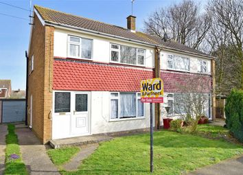 Thumbnail 3 bed semi-detached house for sale in Vincent Close, Broadstairs, Kent