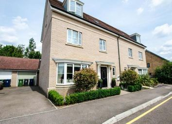 Thumbnail 4 bed semi-detached house for sale in Whittlesford, Cambridge