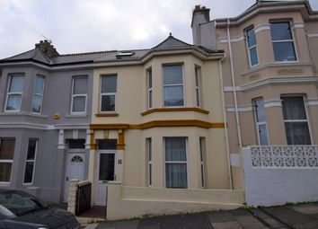 Thumbnail 3 bed end terrace house to rent in Rosebery Avenue, Plymouth, Devon