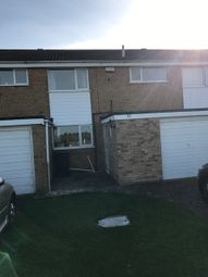 Thumbnail 3 bed town house to rent in Alderton Close, Leicester