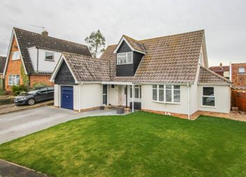 Thumbnail 3 bedroom detached house for sale in Coltsfoot Close, Wickhambrook, Newmarket