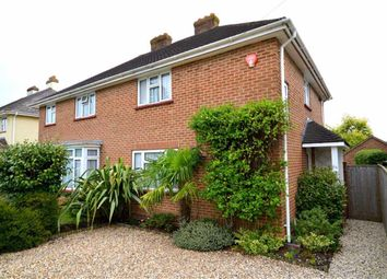 Thumbnail 3 bed semi-detached house for sale in Highfield Road, Pennington, Lymington