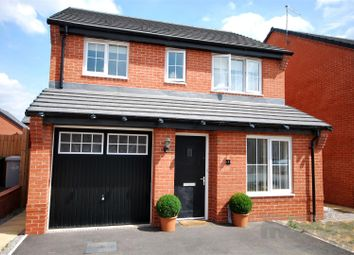 Thumbnail 3 bed detached house for sale in Little Meadow Place, Shavington, Crewe