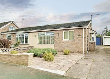 Thumbnail 2 bedroom semi-detached bungalow for sale in Adeliza Garth, Hedon, Hull