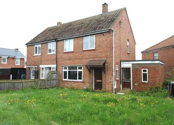 Thumbnail 2 bed semi-detached house for sale in Willow Road, Ferryhill