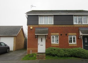 Thumbnail 2 bed semi-detached house to rent in Regency Court, Rushden