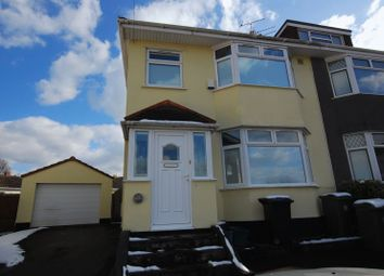 Thumbnail 4 bed semi-detached house to rent in Seagry Close, Bristol