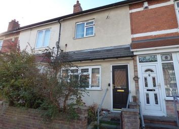 Thumbnail 3 bed terraced house for sale in Solihull Road, Sparkhill, Birmingham, West Midlands