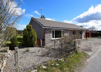 Thumbnail 3 bed detached bungalow for sale in Grantown-On-Spey