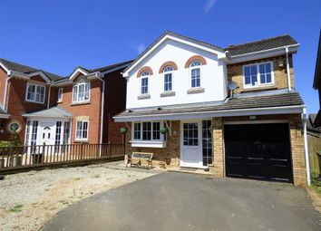 Thumbnail 4 bed detached house for sale in Primrose Walk, Woodford Halse, Northamptonshire