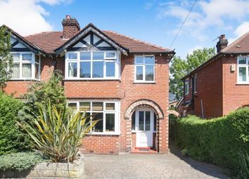 Thumbnail 3 bed semi-detached house for sale in Moss Lane, Alderley Edge, Cheshire, Uk