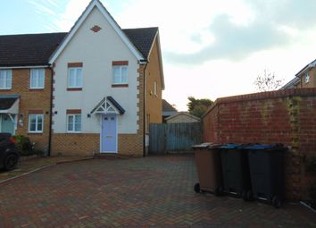 Thumbnail 3 bed semi-detached house to rent in Hill Rise, Ashford