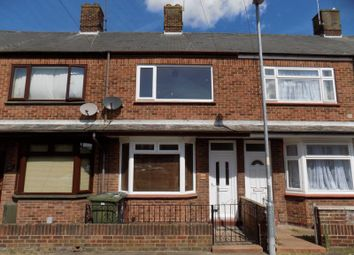 Thumbnail 3 bed terraced house to rent in Alderson Road, Great Yarmouth