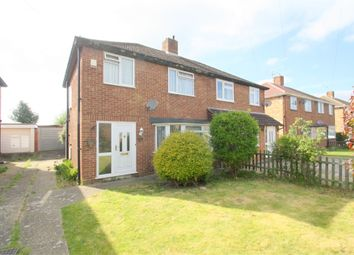Thumbnail 3 bedroom semi-detached house for sale in Brightside Avenue, Staines-Upon-Thames, Surrey