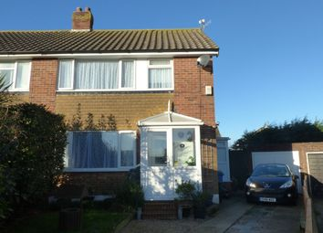 Thumbnail 3 bed semi-detached house for sale in Lesley Close, Bexhill-On-Sea