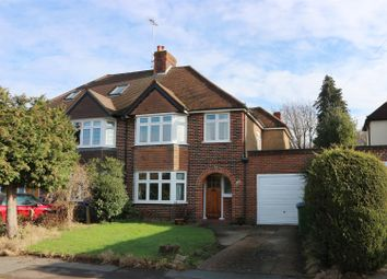 Thumbnail 3 bed semi-detached house for sale in Eastmont Road, Esher