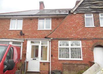 Thumbnail 3 bed terraced house for sale in Arlington Grove, Birmingham
