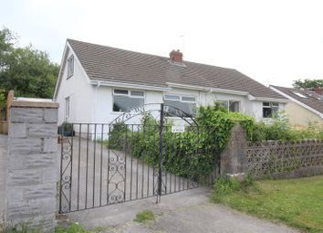 Thumbnail 3 bed bungalow for sale in Riverside, Llanmorlais, Swansea