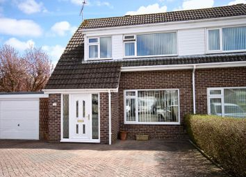 Thumbnail 3 bed semi-detached house for sale in Barrow Close, Dorchester