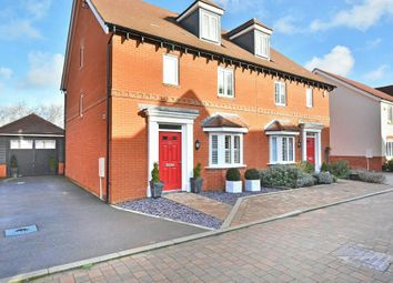 Thumbnail 4 bed semi-detached house for sale in Wells Croft, Broadbridge Heath, Horsham