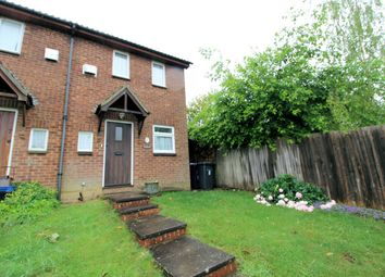 Thumbnail 2 bed end terrace house for sale in Campbell Close, Hitchin, Hertfordshire