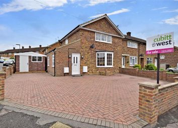 Thumbnail 3 bed end terrace house for sale in Mansfield Drive, Merstham, Redhill, Surrey