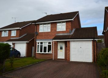 Thumbnail 3 bed detached house to rent in Turner Grove, Perton, Wolverhampton