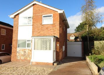 Thumbnail 3 bedroom detached house to rent in Redwood Close, Exmouth