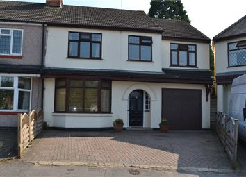 Thumbnail 4 bed semi-detached house for sale in Ebro Crescent, Binley, Coventry, West Midlands