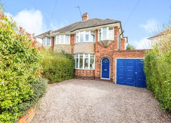 Thumbnail 3 bed semi-detached house for sale in Wellsford Avenue, Solihull