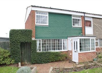 Thumbnail 3 bed end terrace house for sale in Peverel Green, Parkwood, Gillingham, Kent