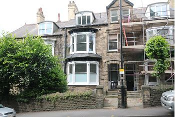 Thumbnail Studio to rent in Flat 2A, 48 Brocco Bank, Sheffield