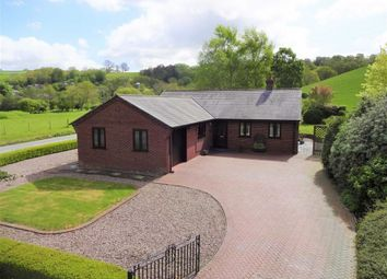 Thumbnail 4 bed detached bungalow for sale in 1, Court Close, Abermule, Montgomery, Powys