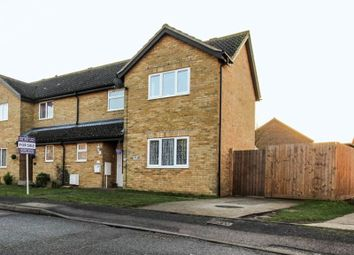 Thumbnail 3 bedroom semi-detached house for sale in Foxwood South, Soham, Ely