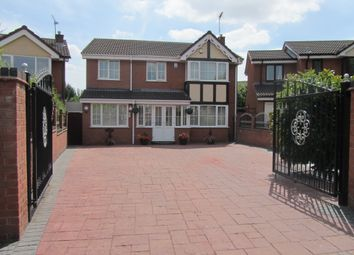 Thumbnail 6 bed detached house for sale in Tewkesbury Drive, Bedworth, Warwickshire