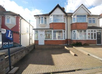 Thumbnail 3 bedroom semi-detached house for sale in Park End Road, Romford