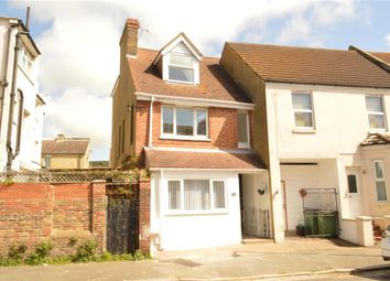 Thumbnail 4 bed end terrace house for sale in Ethelbert Road, Folkestone, Kent