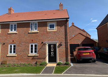 Thumbnail 3 bed semi-detached house for sale in Hasker Road, Basingstoke