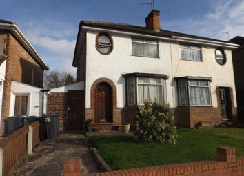 Thumbnail 2 bed semi-detached house for sale in Thurlestone Road, Birmingham, West Midlands