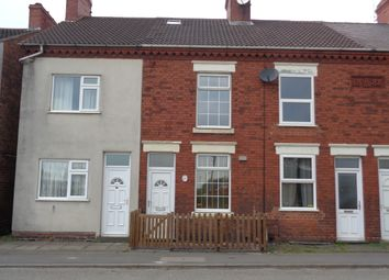 Thumbnail 2 bedroom terraced house to rent in Leicester Road, Ibstock