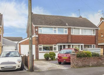 Thumbnail 3 bed semi-detached house to rent in Hillview Crescent, Newport