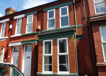 Thumbnail 3 bed terraced house to rent in Sycamore Road, Birkenhead, Wirral