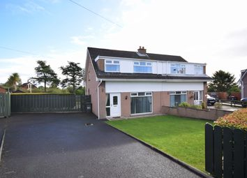 Thumbnail 3 bed semi-detached house for sale in Tern Crescent, Carrickfergus