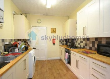 Thumbnail 6 bed terraced house to rent in Fosse Road South, Leicester