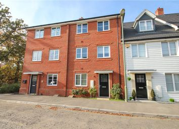Thumbnail 4 bed terraced house for sale in Jubilee Drive, Church Crookham, Fleet